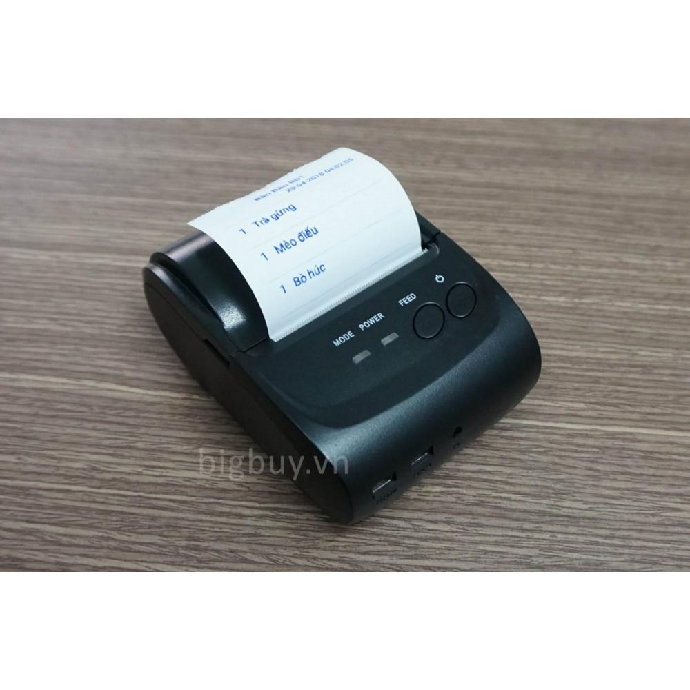 Máy in hóa đơn không dây bluethooth RI-5802DD
