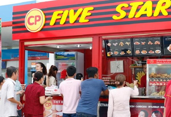 cửa hàng bán thức ăn nhanh