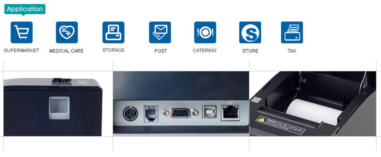 Ứng dụng máy XP E300M