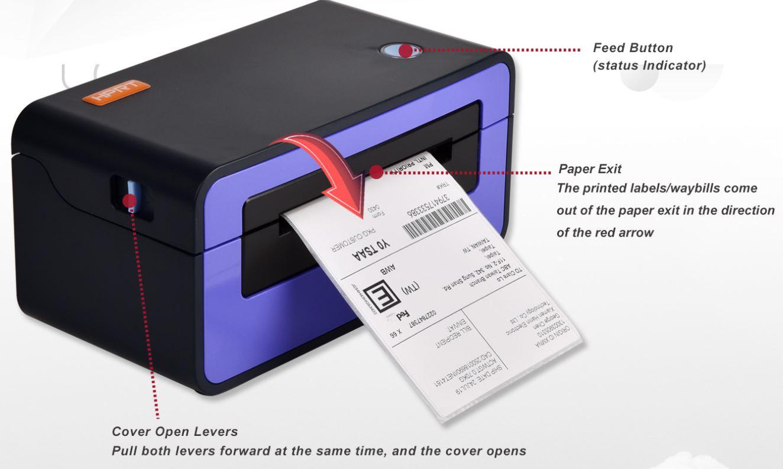 Nút bẩm của máy HPRT SL42