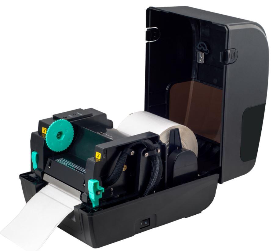 Xprinter XP TT426 TT437 mở nắp