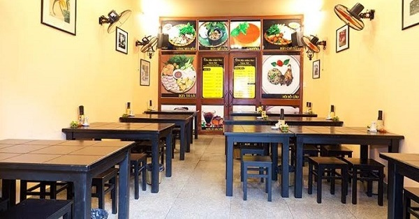 chi phí mở quán ăn