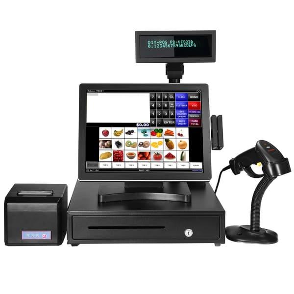 cách sử dụng máy tính tiền trong siêu thị