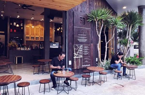 mở quán cafe coc