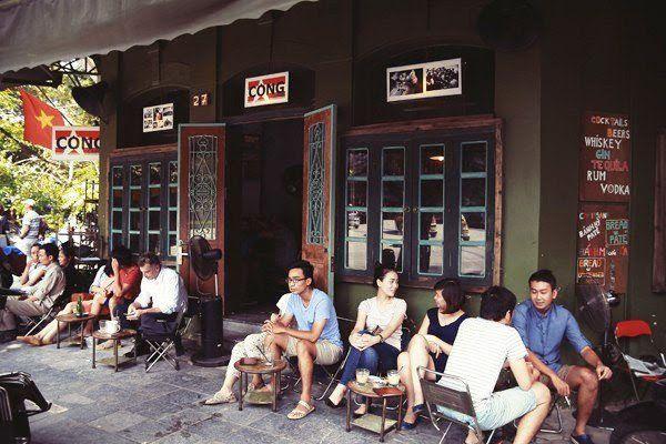 mở quán cà phê cóc