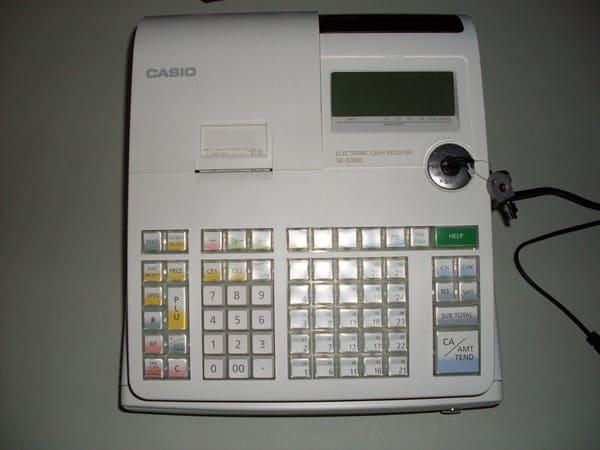 Cách sử dụng máy tính tiền Casio
