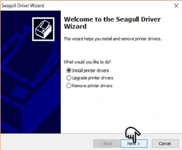 Driver máy in mã vạch Godex