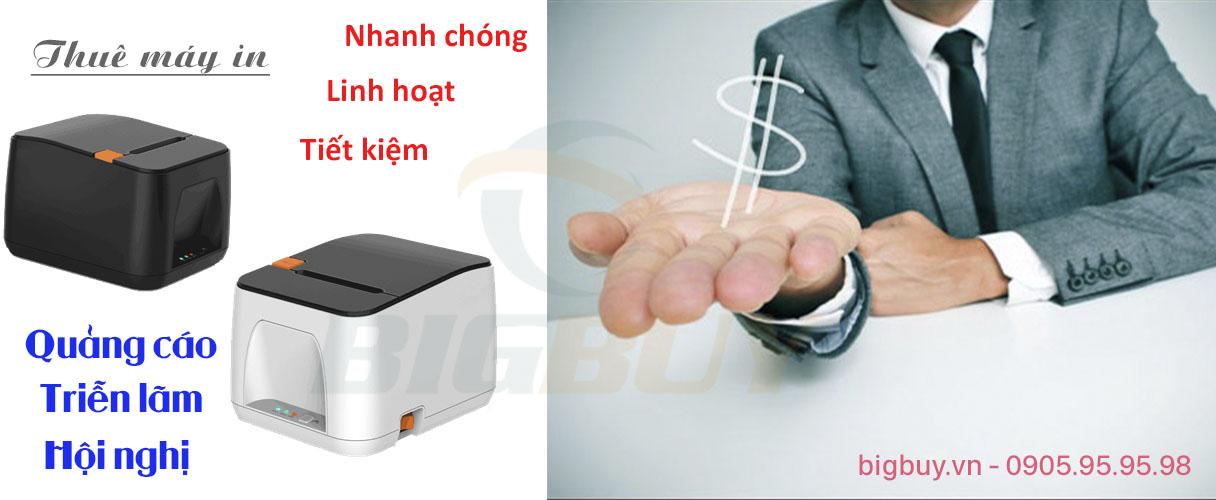 Cho thuê máy in hóa đơn tại Bigbuy.vn