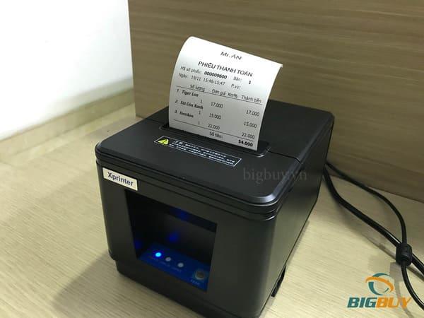 Cách sử dụng máy in bill