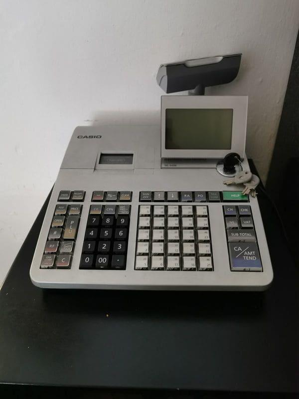Máy tính tiền Casio SE-S400 cho shop