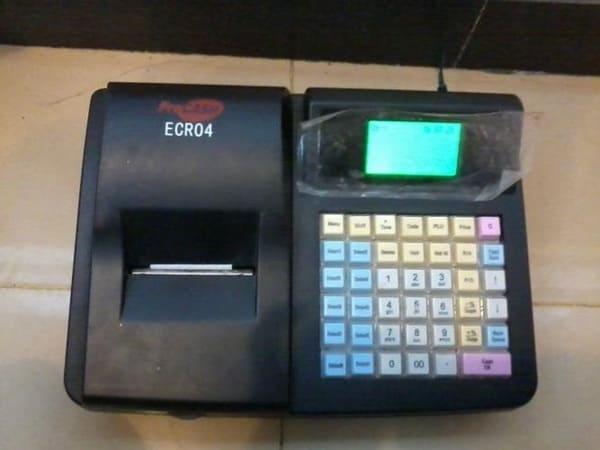 máy tính tiền in hóa đơn mini