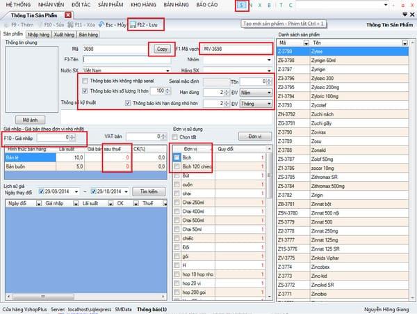 Phần mềm Vshop plus miễn phí