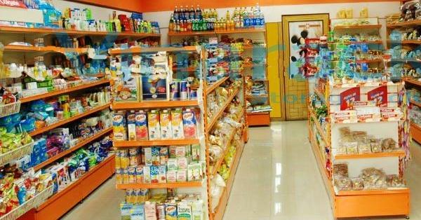 mẫu thiết kế cửa hàng tạp hóa sang trọng