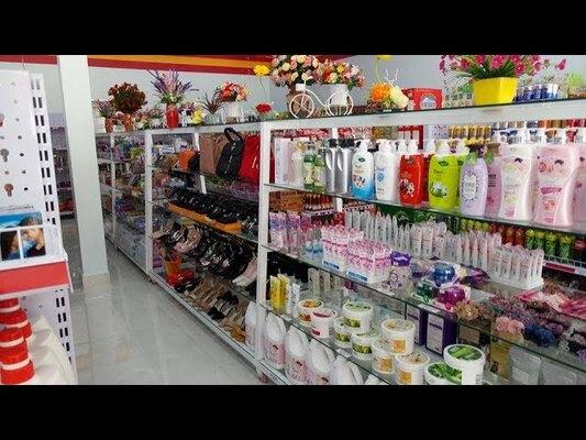 cách thiết kế cửa hàng tạp hóa