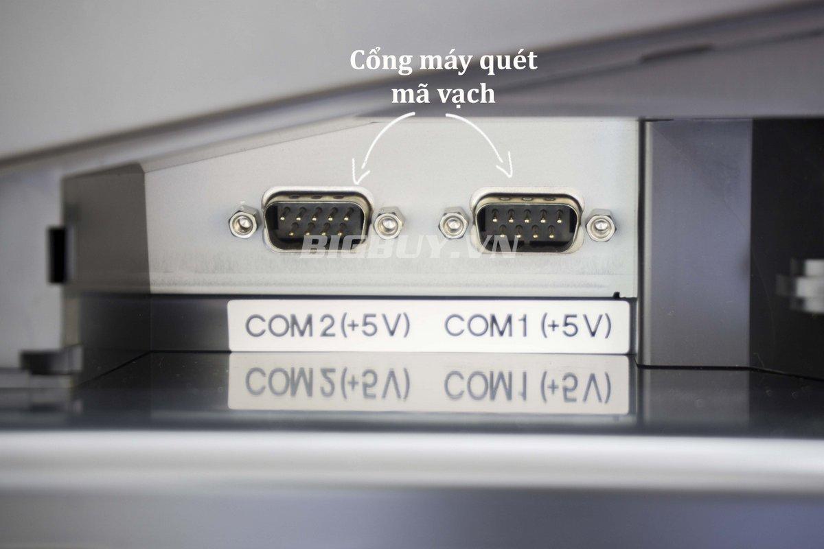 cổng quét máy tính tiền casio