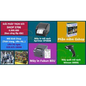 Giải pháp trọn gói cho shop S706