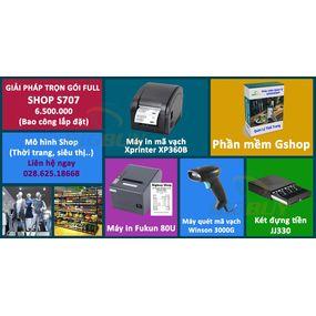 Giải pháp trọn gói cho Shop S707