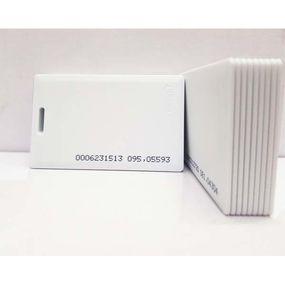 Thẻ chấm công cảm ứng từ Proximity dầy 1.8mm 125 KHz