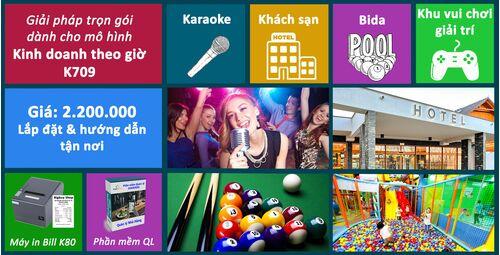 Giải pháp trọn gói cho Karaoke K709