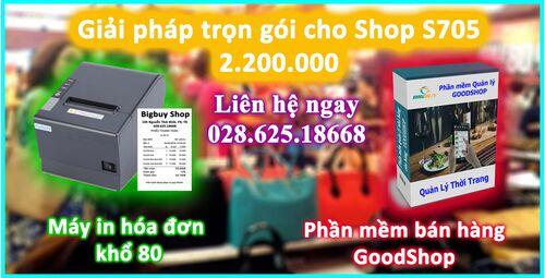 Giải pháp trọn gói cho Shop S705