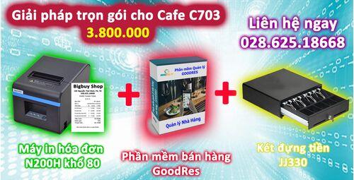 Giải pháp trọn gói cho quán cafe C703