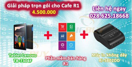 Giải pháp trọn gói cho quán cafe R1