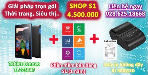 Giải pháp trọn gói cho Shop S1