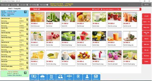 Phần mềm tính tiền Nhà hàng, Cafe 106R
