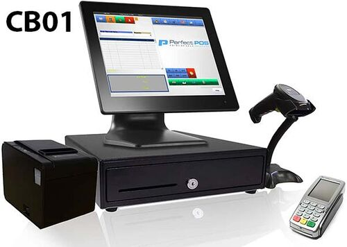 Máy tính tiền siêu thị mini