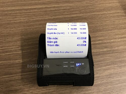 Máy in hóa đơn Bluetooth POS 8001DD_2