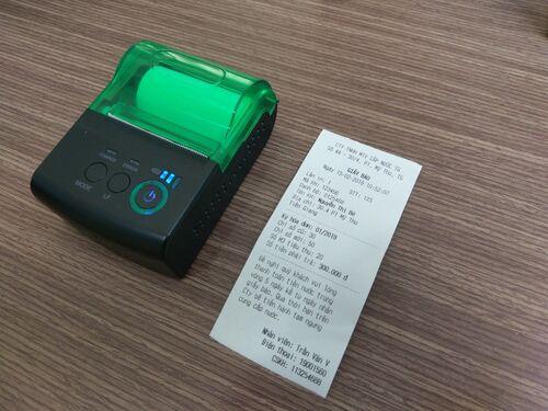 Bill của Máy in hóa đơn Richta Ri-58Ai