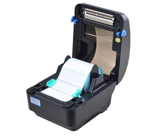 Mở nắp máy Xprinter DT 325B