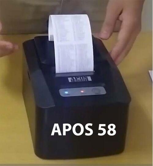 Máy in APOS 58