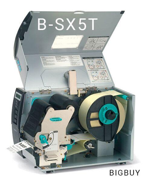 máy in mã vạch công nghiệp toshiba